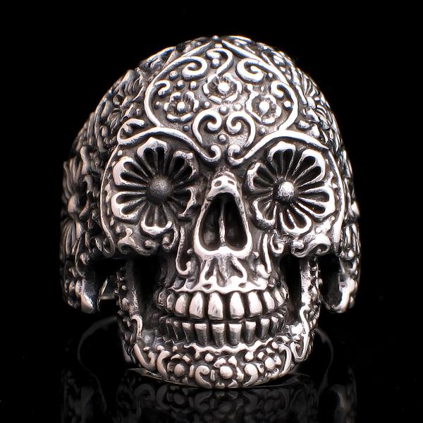 Mort mexicaine calavera bijou rock tattoo old school edemonium tattoo tattooskid - Tete mort mexicaine ...