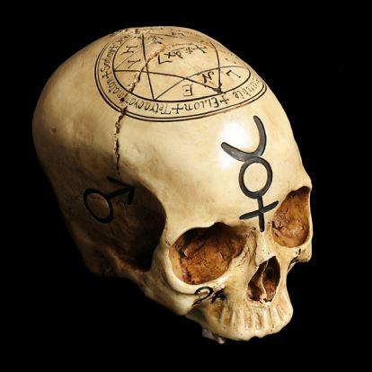Cabalistic skull