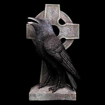 Crow on a cross