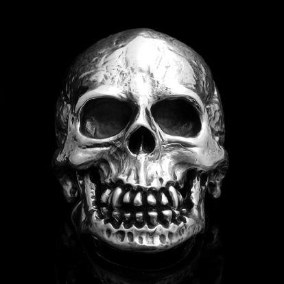 Bague crâne anatomique