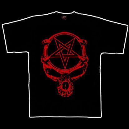 Skull / pentagram T-shirt