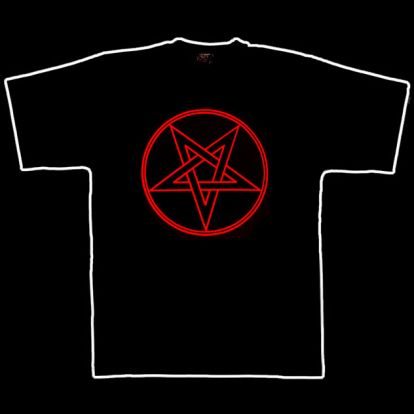 T-shirt pentacle