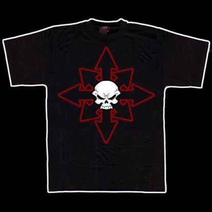 T-shirt crâne / étoile du chaos