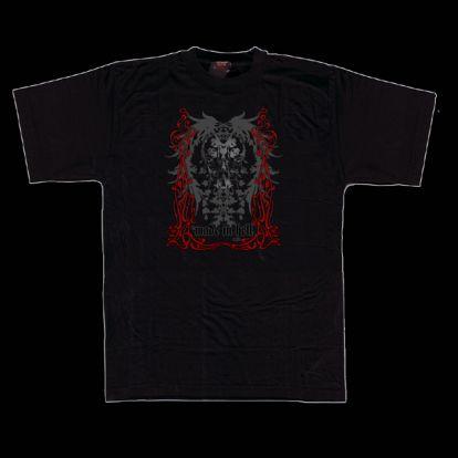 T-shirt crâne baroque