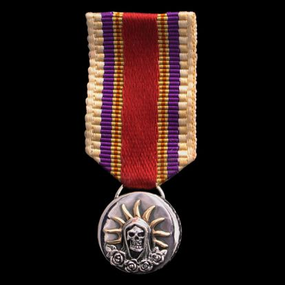 Santa Muerte medal