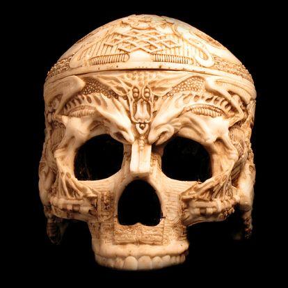Coffret crâne type KAPALA