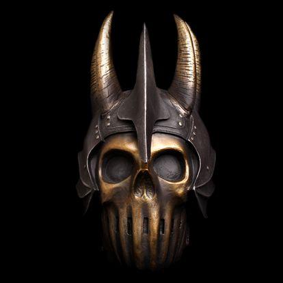 Crâne de guerrier fantastique