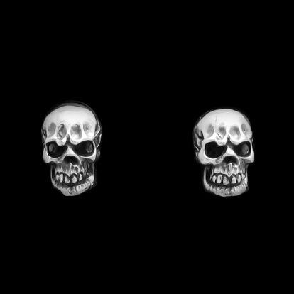 Boucles d'oreilles crânes