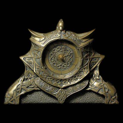 Gaelic clock