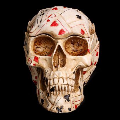 Coffret crâne poker